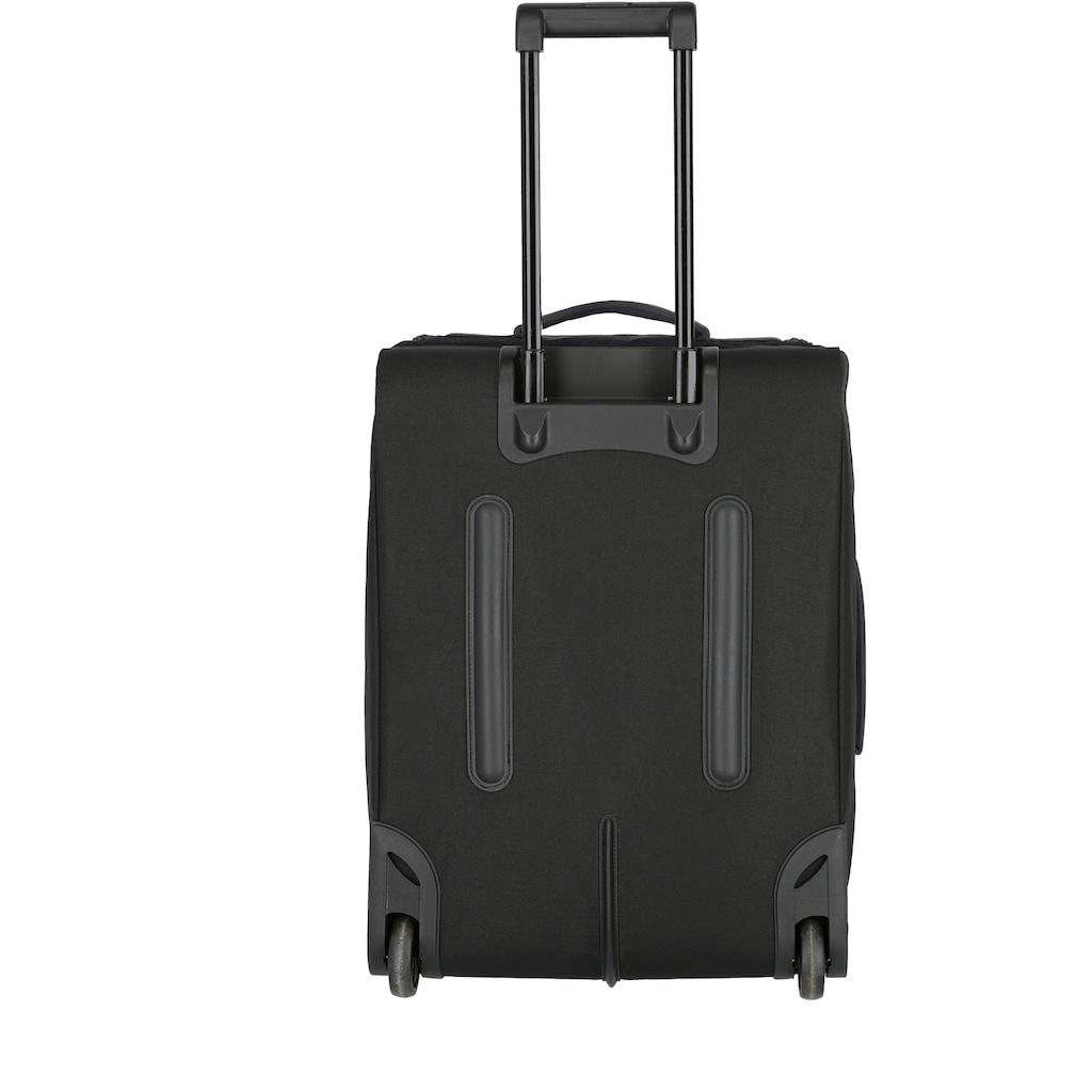 travelite Reisetasche »Kick Off S, 55 cm, mit Trolleyfunktion«, mit Trolleyfunktion