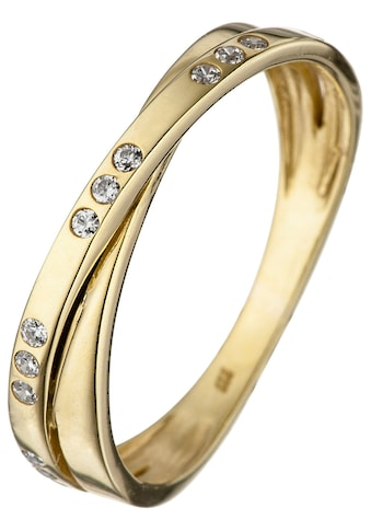 JOBO Goldring, 333 Gold mit Zirkonia kaufen