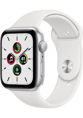 Apple Watch »SE GPS, Aluminiumgehäuse mit Sportarmband 44mm« (, inkl. Ladestation (magnetisches Ladekabel) kaufen
