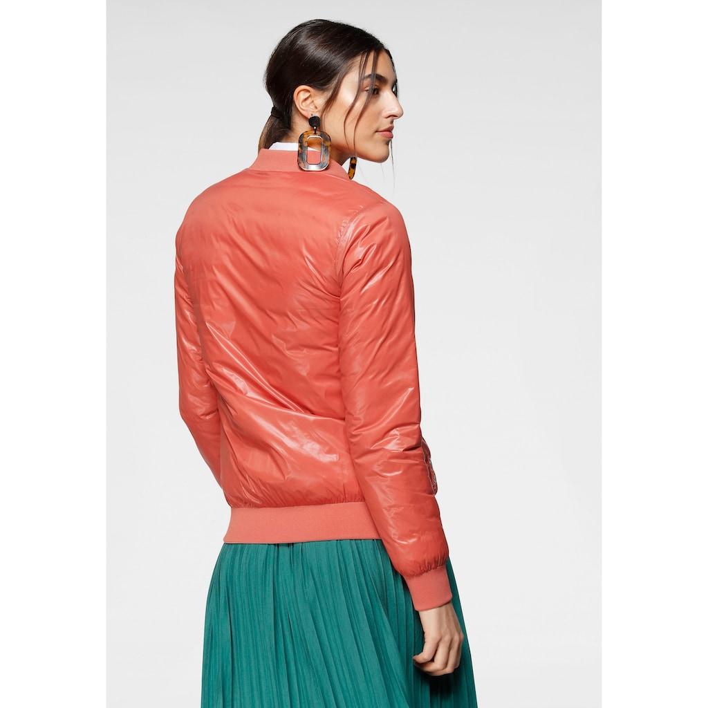 ALPENBLITZ Wendejacke »Athen«, im Gesteppt- und Glatt-Design, eine Jacke zwei Looks und Farben