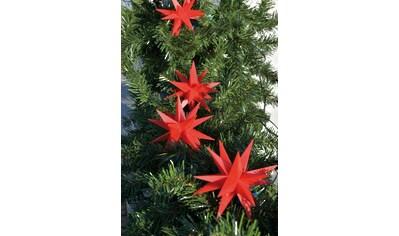 HGD Holz - Glas - Design Kunststoff - Sternenkette mit 9 Sternen 18 - Zacker kaufen