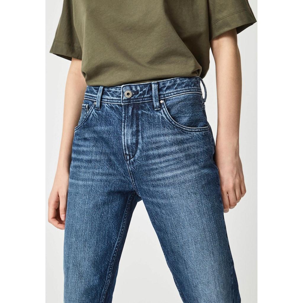 Pepe Jeans High-waist-Jeans »VIOLET«, Relaxed Passform mit hohem Bund im Five-Pocket-Style, authentisch aus 100% Baumwoll Denim