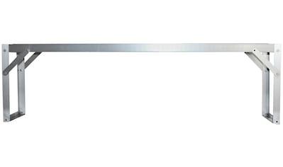 VITAVIA Pflanztisch , Alu - Tischaufsatz alu, 121x28x39cm kaufen