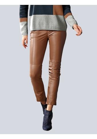 Alba Moda Lederhose aus hochwertigem Lammnappaleder kaufen