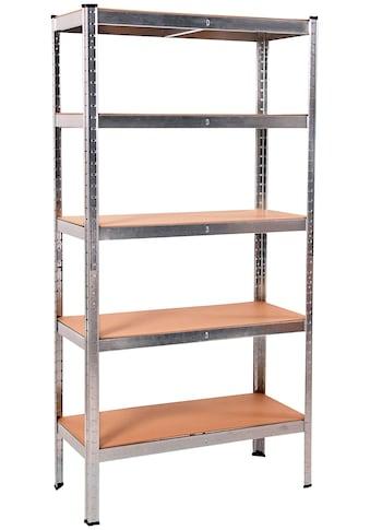 ONDIS24 Steckregal »Thomas«, (1 St.), 5 Fachböden, Metall kaufen