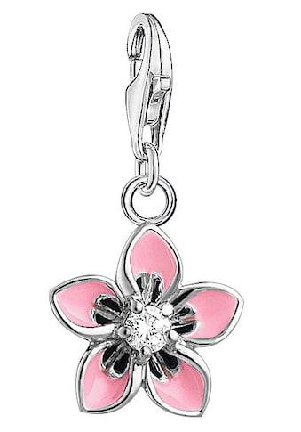 THOMAS SABO Charm - Einhänger »Rosa Blume, 1354 - 041 - 9« kaufen