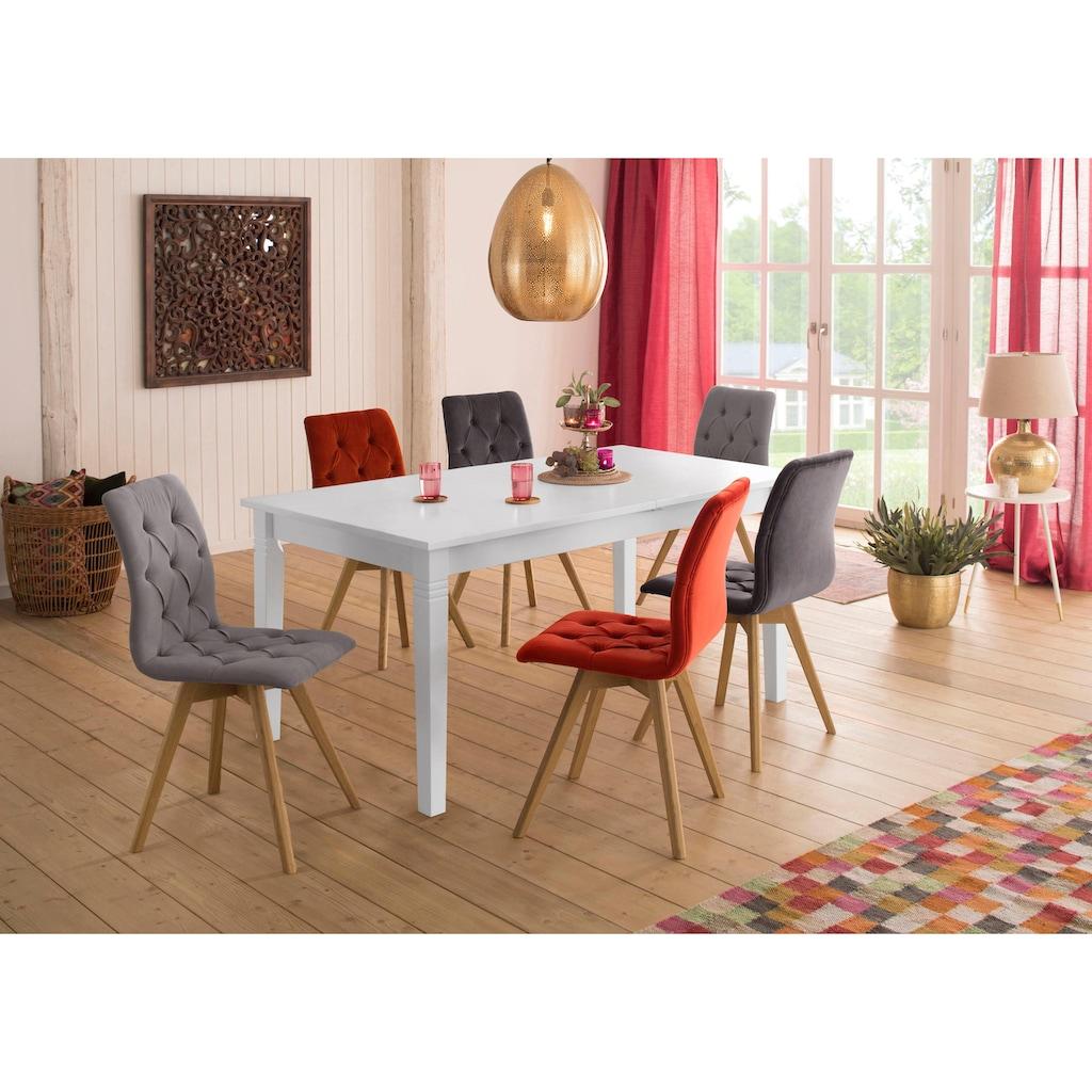Home affaire Esstisch »Danuta«, in 3 verschiedenen Farben und Größen mit Auszugsfunktion.