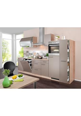 wiho Küchen Küchenzeile »Montana«, mit E-Geräten, Breite 300 cm kaufen
