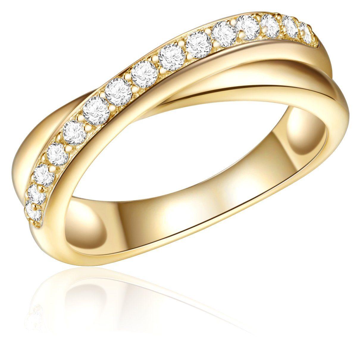 Rafaela Donata Fingerring RD231 | Schmuck > Ringe | Goldfarben | Rafaela Donata