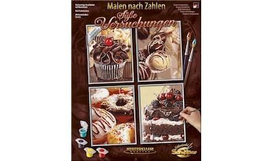 """Schipper Malen nach Zahlen """"Meisterklasse Quattro, Süße Versuchungen"""" kaufen"""