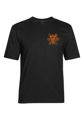 AHORN SPORTSWEAR T - Shirt mit Rundhals - Ausschnitt »KLEIN_ALOHA TURTLE_ORANGE MARIGOLD« kaufen