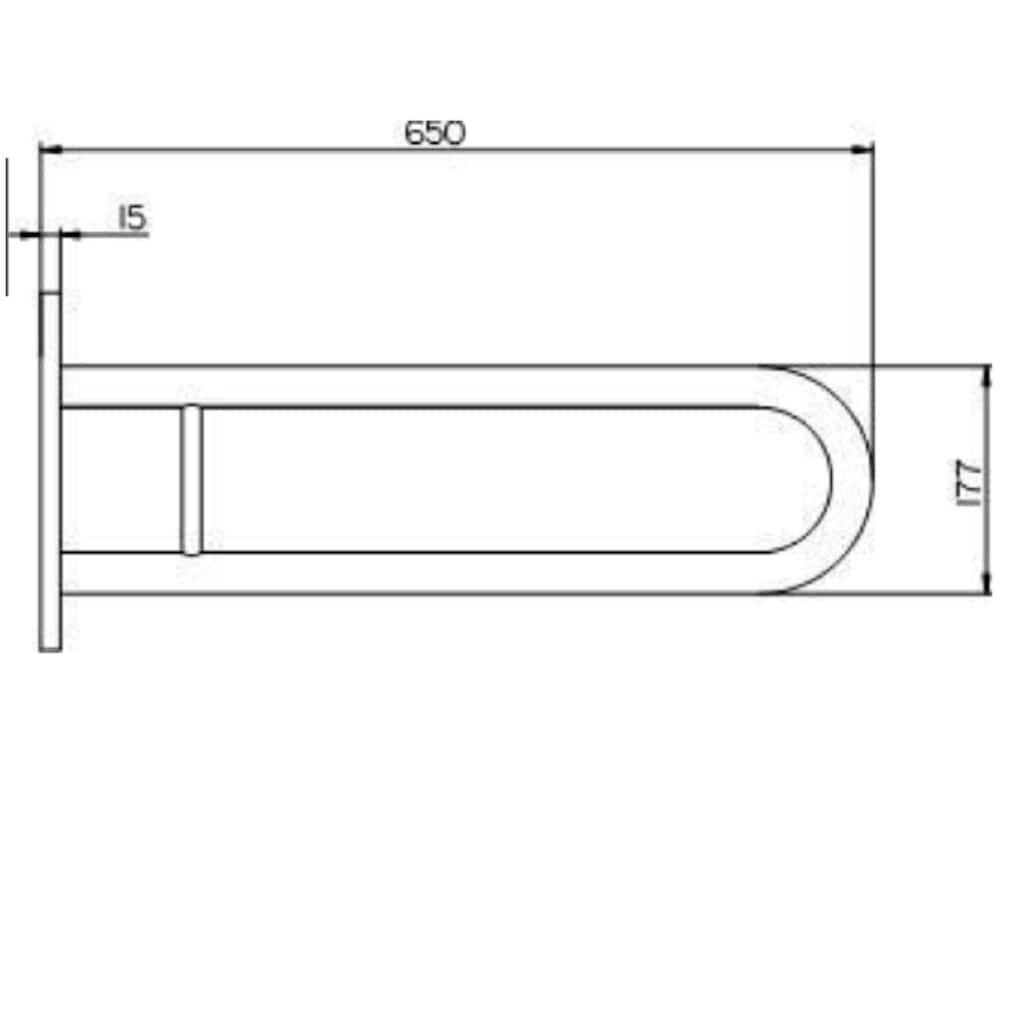 Provex Haltegriff »Serie 250«, belastbar bis 100 kg, in weiß