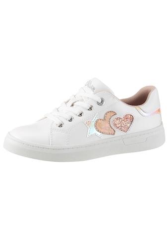 s.Oliver Sneaker, mit Stern-und Herz-Aufnäher kaufen