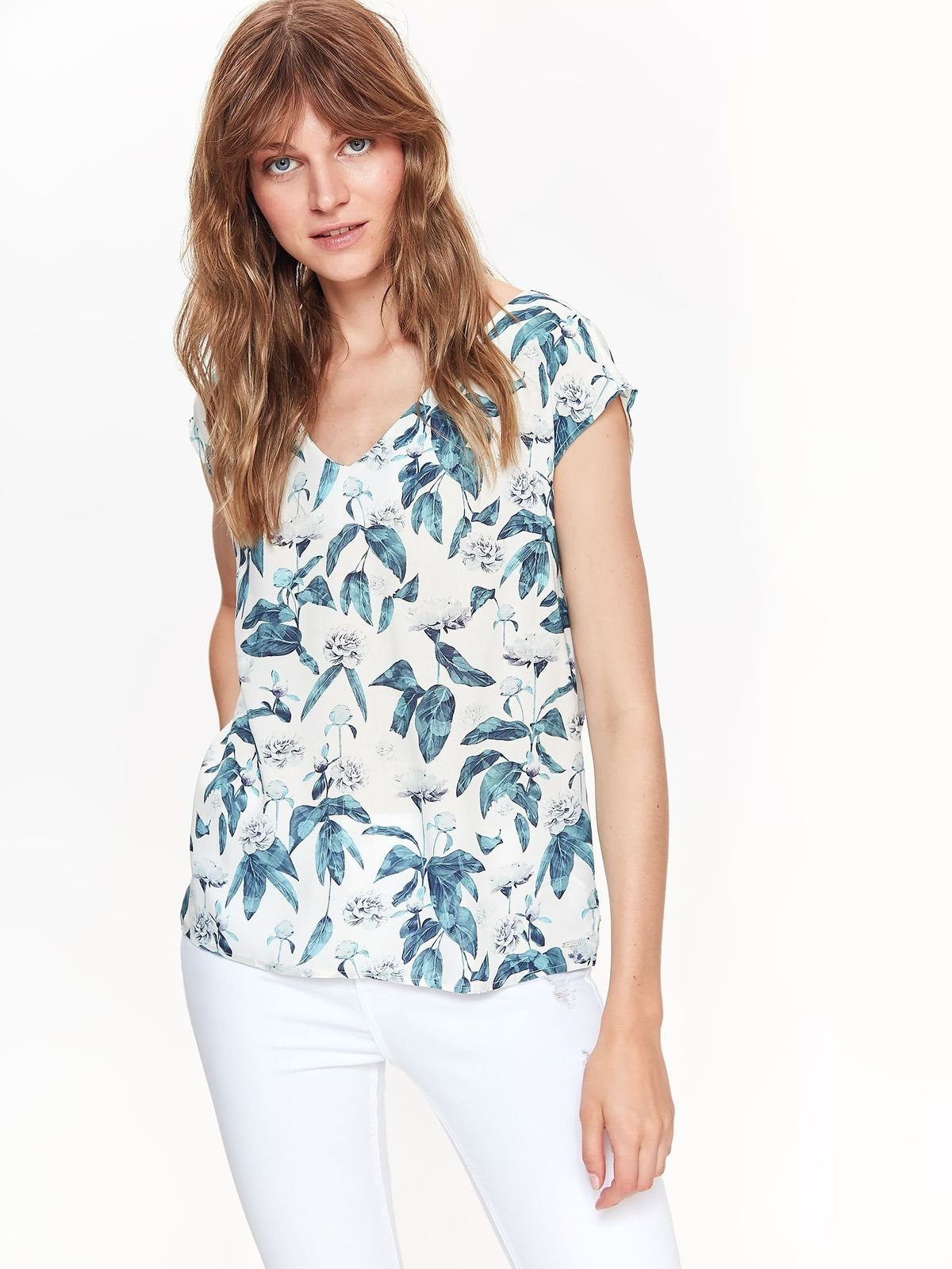 TOP SECRET Bluse mit floralem Muster