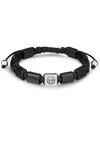 True Rebels Armband »LL986«, (1 tlg.), mit Achat kaufen