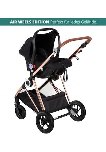 BabyGo Kombi-Kinderwagen »Halime AIR 3in1, Anthracite Gold«, mit Luftreifen, inkl.... kaufen