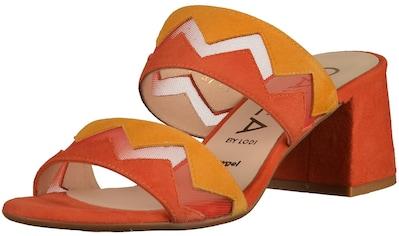 GADEA Pantolette »Veloursleder/Textil« kaufen