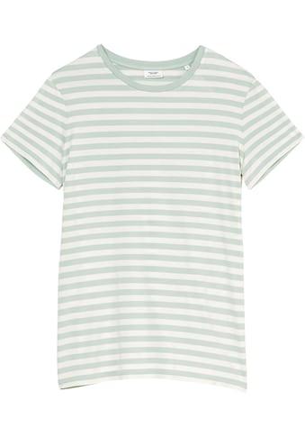 Marc O'Polo DENIM Kurzarmshirt, in klassischem Ringel-Dessin kaufen