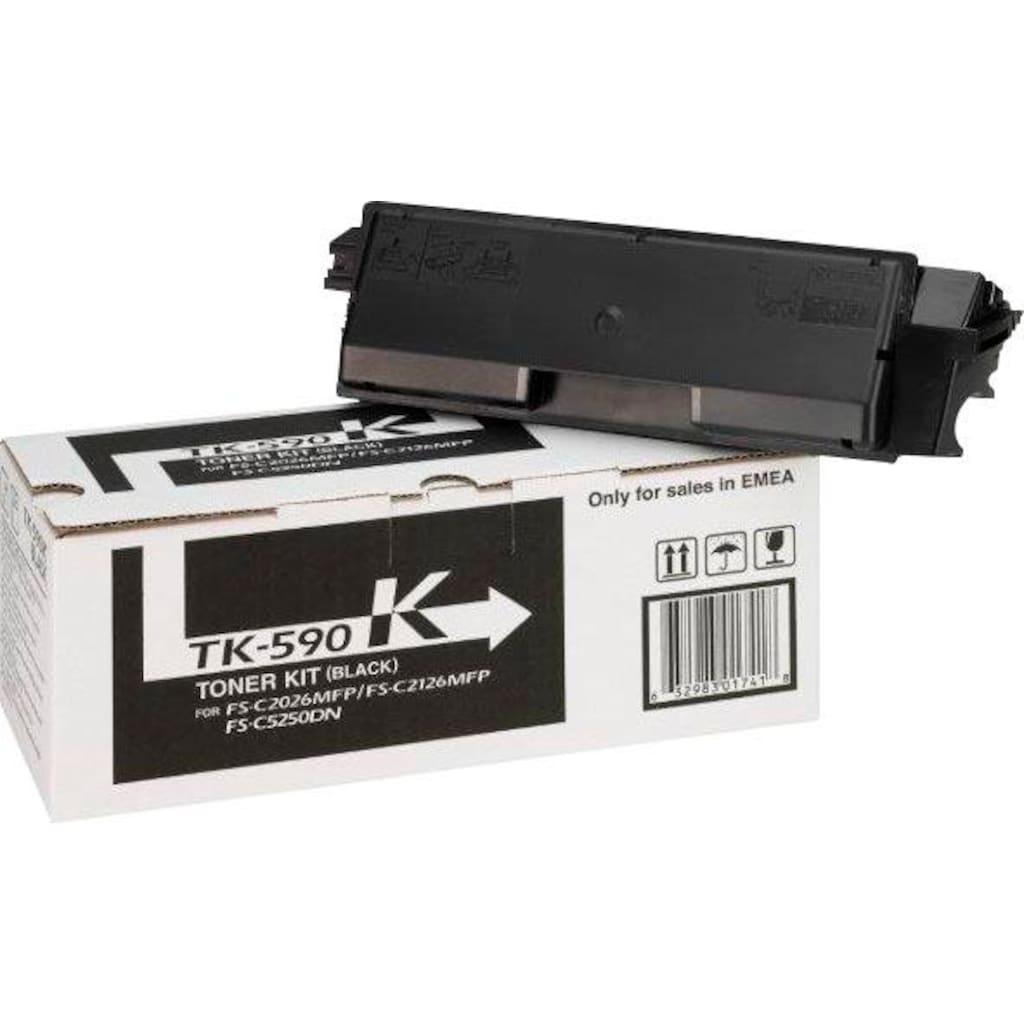 Kyocera Tonerkartusche »TK-590K, original, 1T02KV0NL0, schwarz«