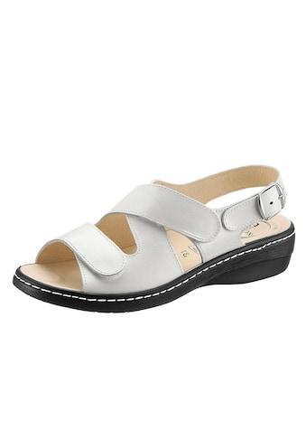 Sandale mit rutschhemmender PUR - Laufsohle kaufen