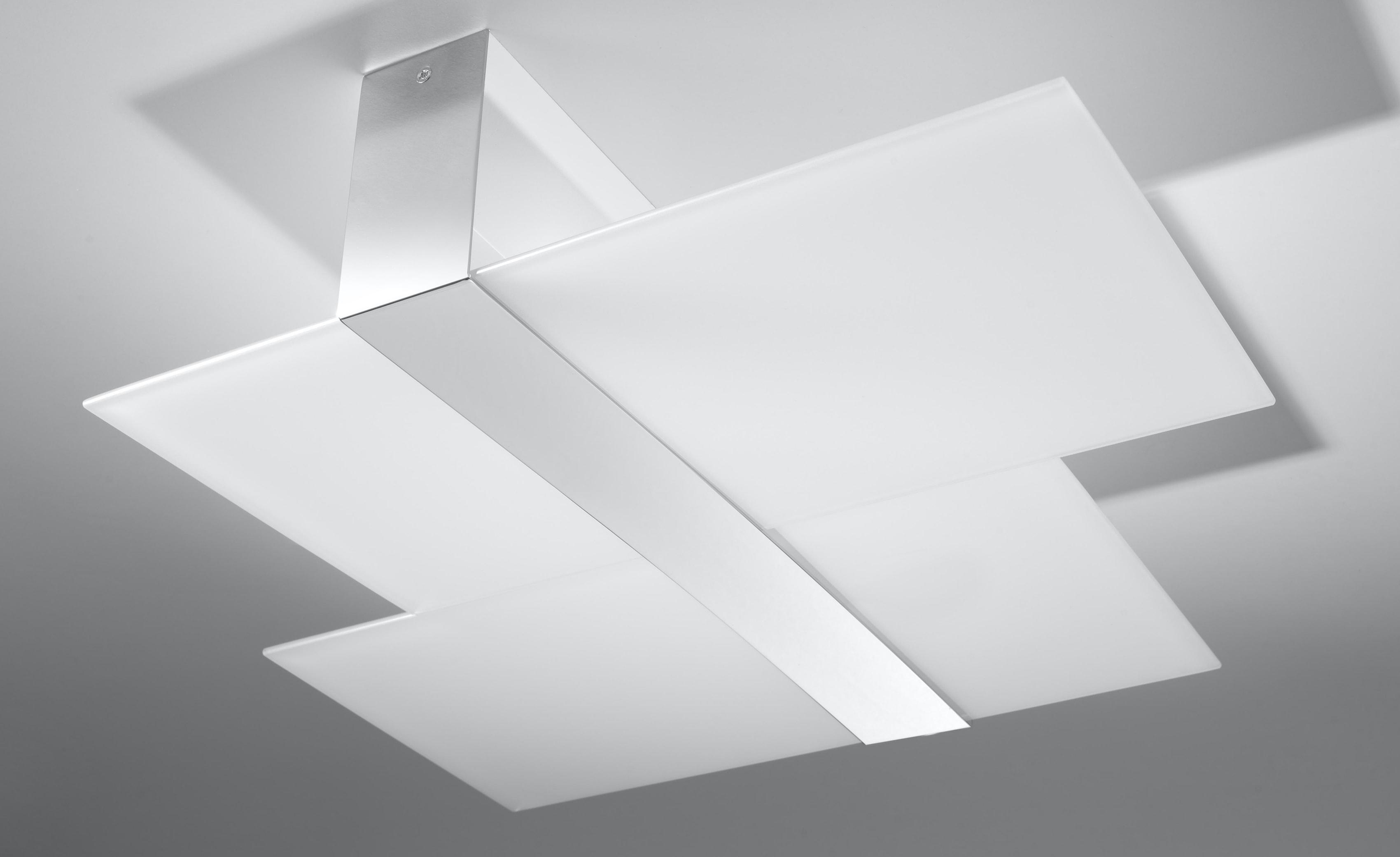 SOLLUX lighting Deckenleuchte MASSIMO, E27, 1 St., Deckenlampe