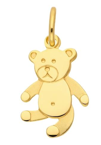 Adelia´s Kettenanhänger »333 Gold Anhänger Bär«, Goldschmuck für Damen kaufen