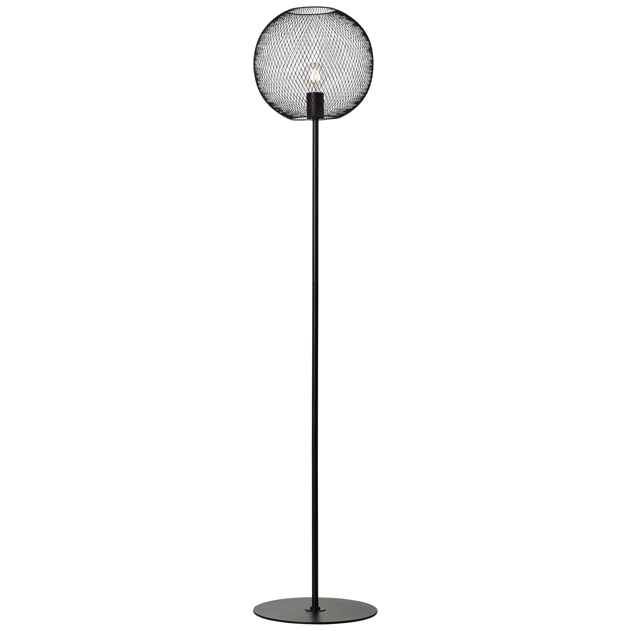 Brilliant Leuchten Stehlampe Soco, E27, 1 St., 1flg schwarz BRILLIANT Stehleuchten