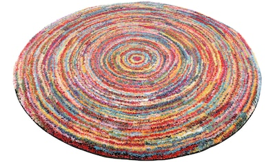 OCI DIE TEPPICHMARKE Teppich »SIXTEEN ROUND«, rund, 25 mm Höhe, Wohnzimmer kaufen