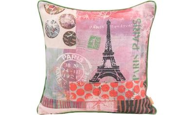 H.O.C.K. Dekokissen »Lieblingsstädte PARIS«, mit Paris-Motiv kaufen