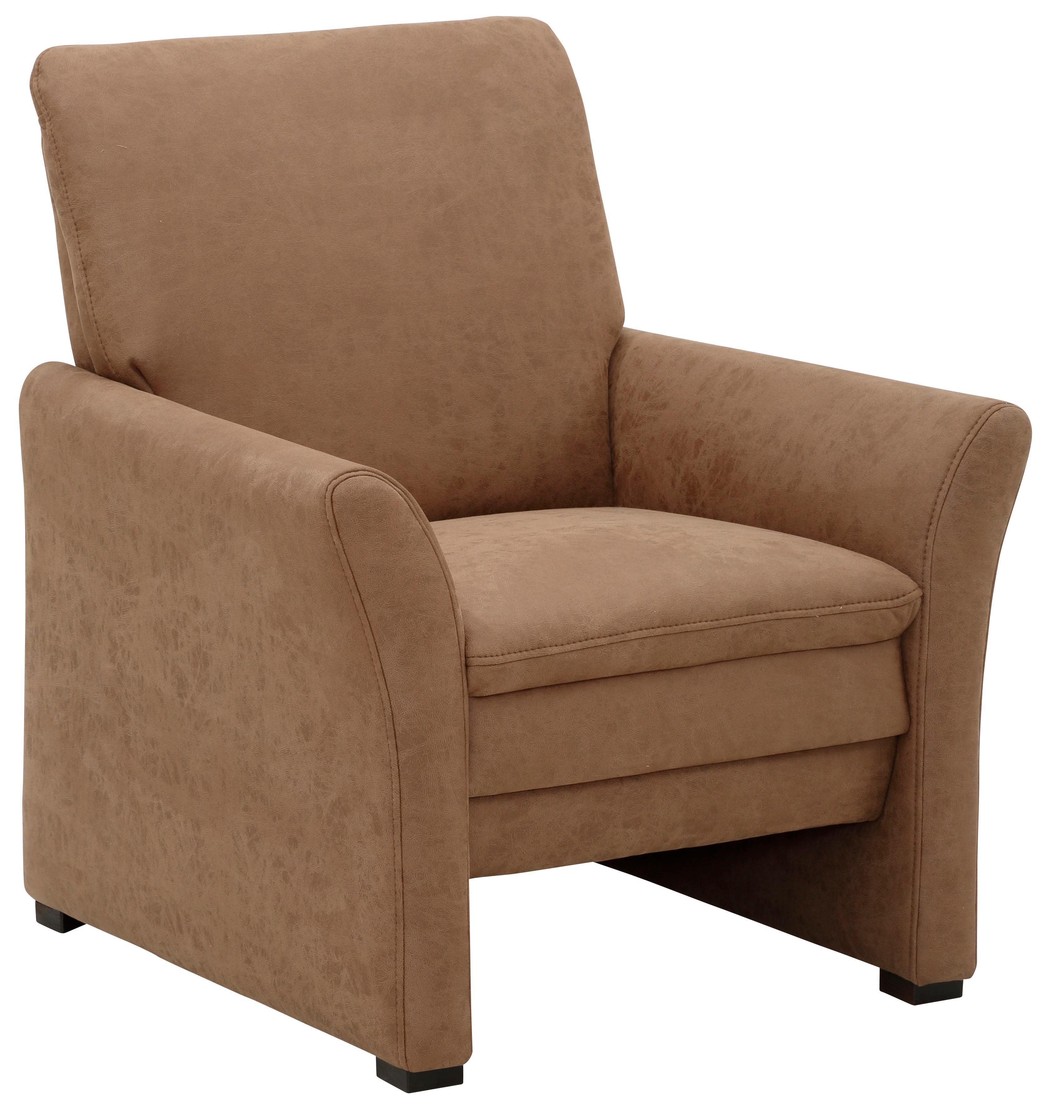 Delavita Sessel Elani mit Federkern in 2 Größen/ Sitzbreiten