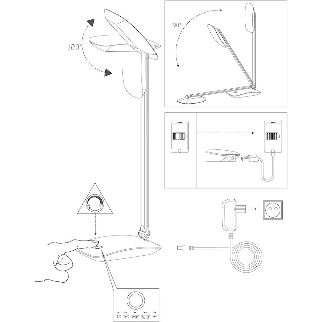 EGLO Tischleuchte »CAJERO«, LED-Board, Neutralweiß