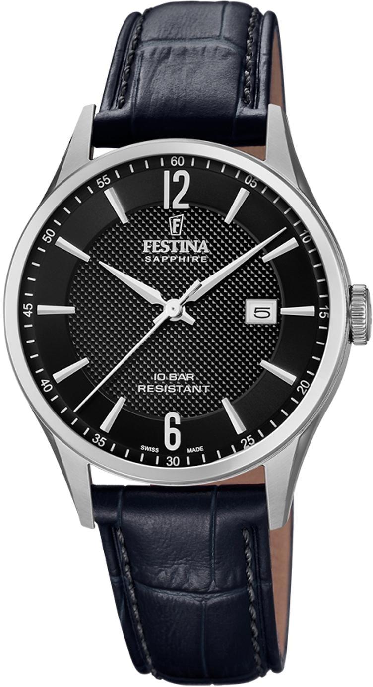 Festina Quarzuhr Swiss Made Collection, F20007/4 | Uhren > Quarzuhren | Festina