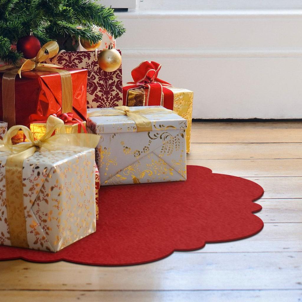 Wall-Art Tischdecke »Weihnachtsbaumdecke Vintage«, (1 St.)