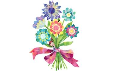 Wall-Art Wandtattoo »Märchenhaft Blumenstrauß« kaufen