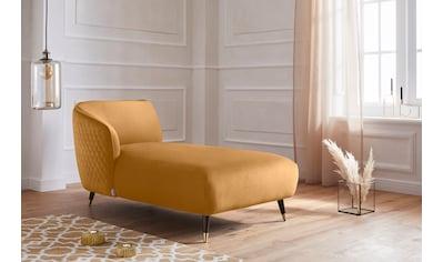 Guido Maria Kretschmer Home&Living Recamiere »Oradea«, mit eleganter Steppung auf Rückseite der Rückenlehne kaufen