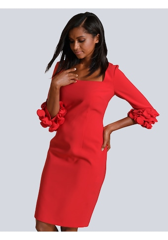Alba Moda Kleid mit eleganten Details an den Ärmeln kaufen