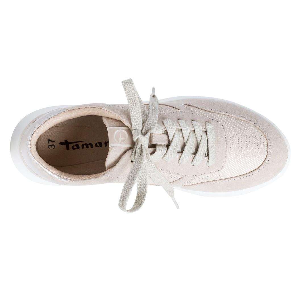 Tamaris Sneaker, mit gepolstertem Schaftrand