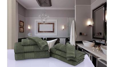 Handtuch Set, »Uni Good Morning«, good morning (Set) kaufen