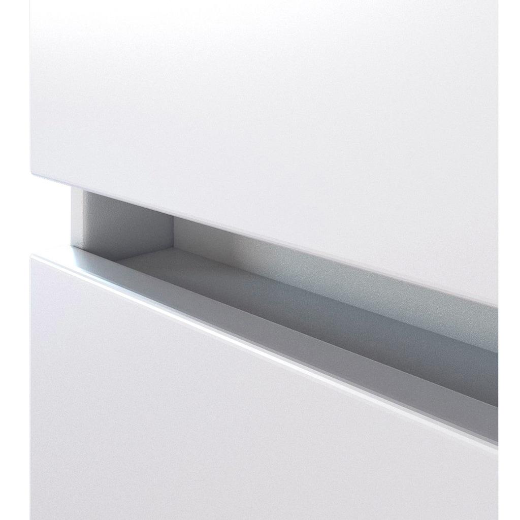 HELD MÖBEL Waschtisch-Set »Baabe«, (Set, 2 St.), Breite 80 cm, Softclose-Funktion