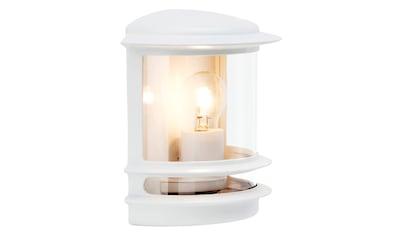 Brilliant Leuchten Hollywood Außenwandleuchte weiß kaufen