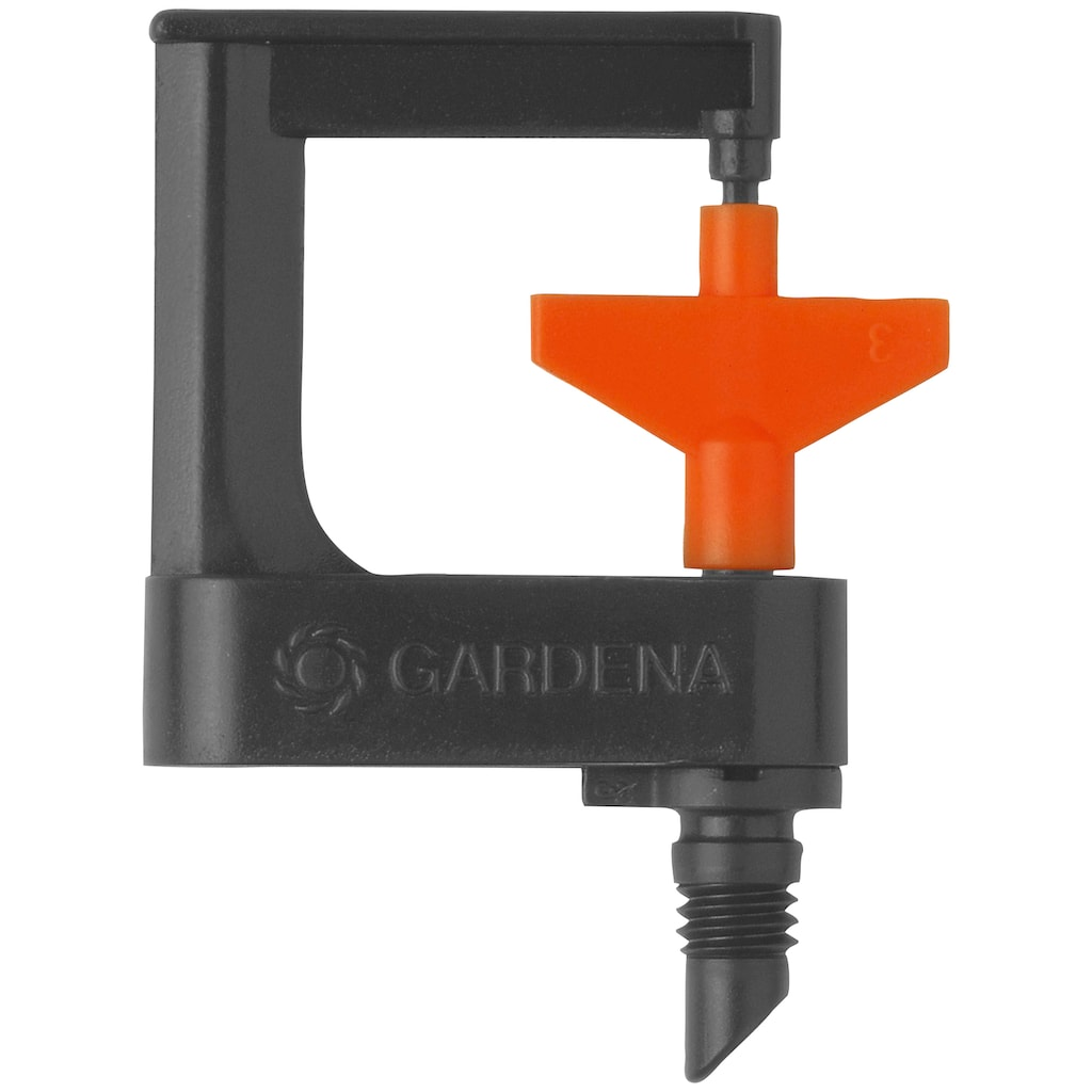 GARDENA Bewässerungssystem »Micro-Drip-System, 1369-20«, Rotor-Sprühregner 360°,Wurfweite max. 3,5 Meter, 2 Stück