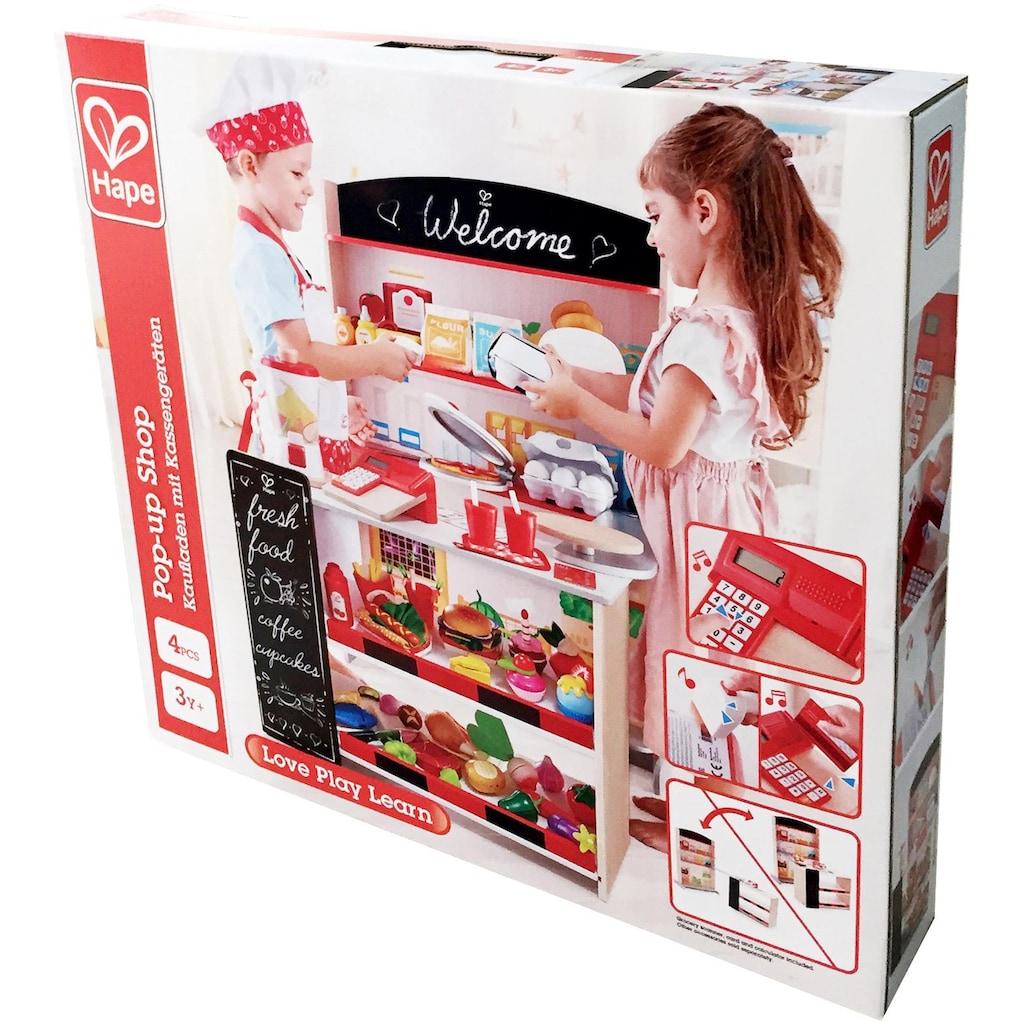 Hape Kaufladen, mit Kasse und Scanner