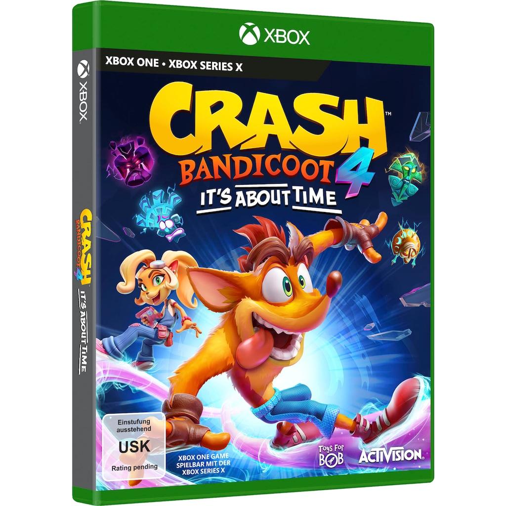Activision Spiel »Crash Bandicoot 4 - It´s About Time«, Xbox One