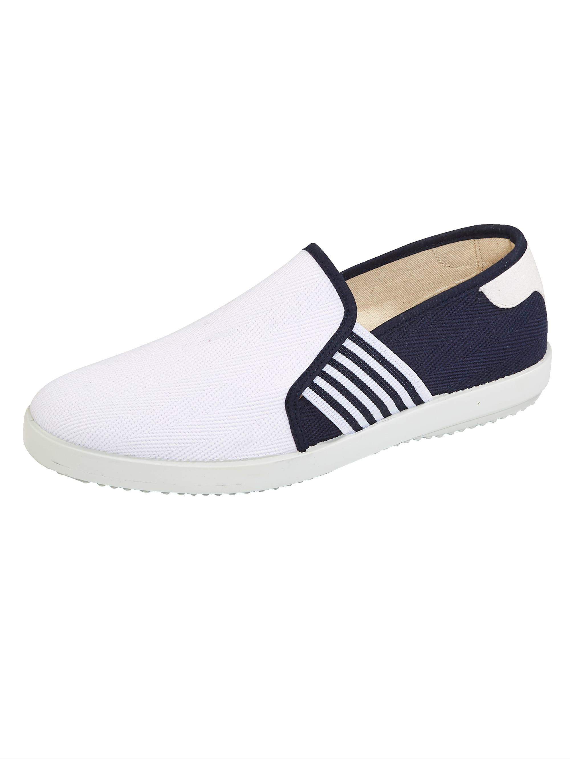 Babista Slipper, in maritimen Stil blau Herren Slipper Sneaker