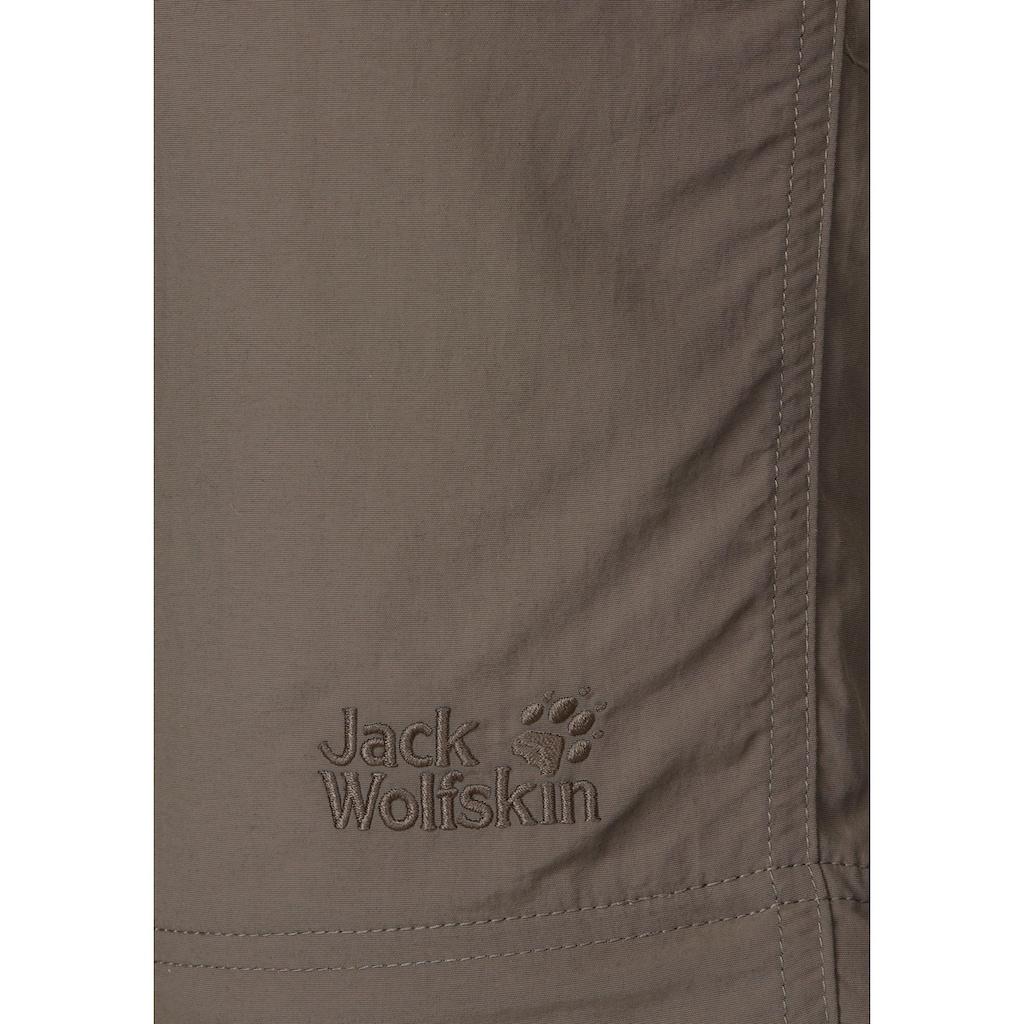 Jack Wolfskin Zip-off-Hose »CANYON ZIP OFF«, mit UPF 40+