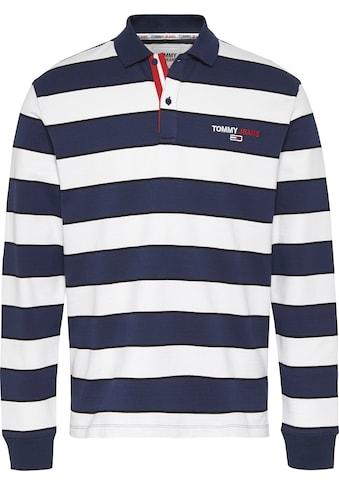 TOMMY JEANS Langarm - Poloshirt »TJM LONGSLEEVE STRIPE POLO« kaufen