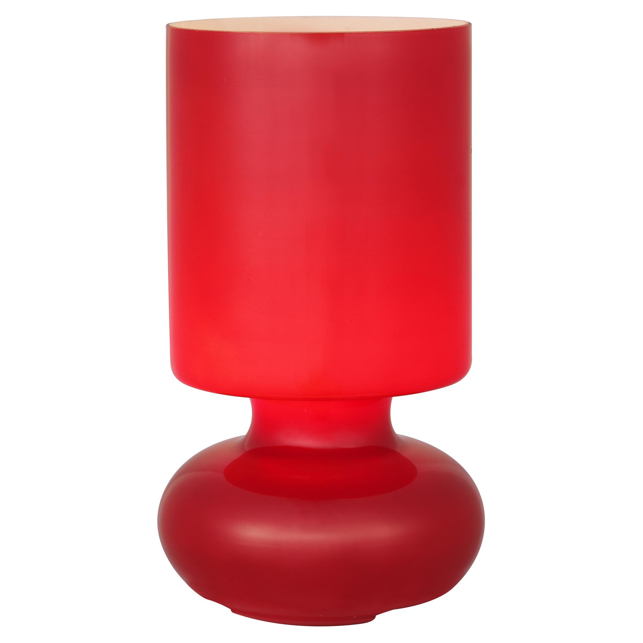 Brilliant Leuchten Fuerte Tischleuchte rot