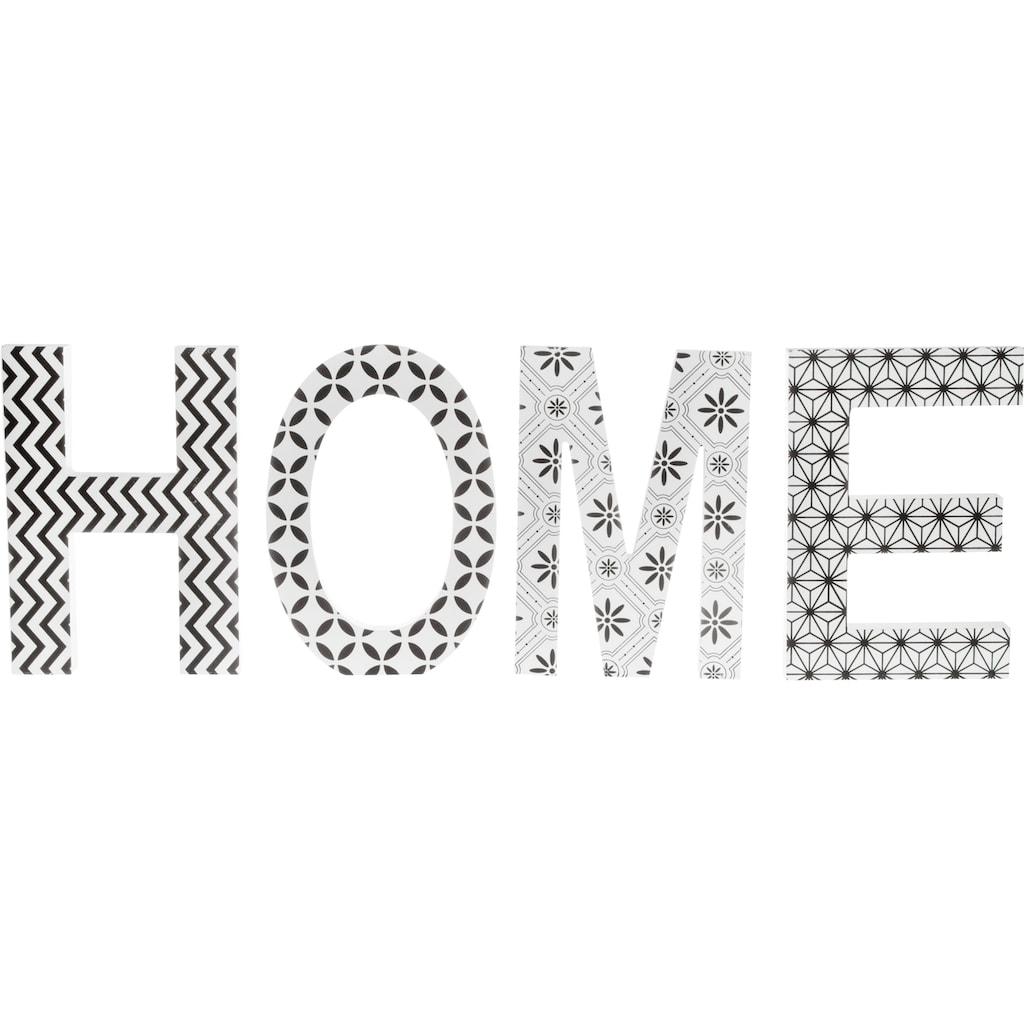 """Myflair Möbel & Accessoires Deko-Buchstaben, Schriftzug """"HOME"""""""