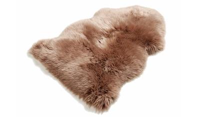 Fellteppich, »Schaffell LF«, Böing Carpet, fellförmig, Höhe 70 mm, Naturprodukt kaufen