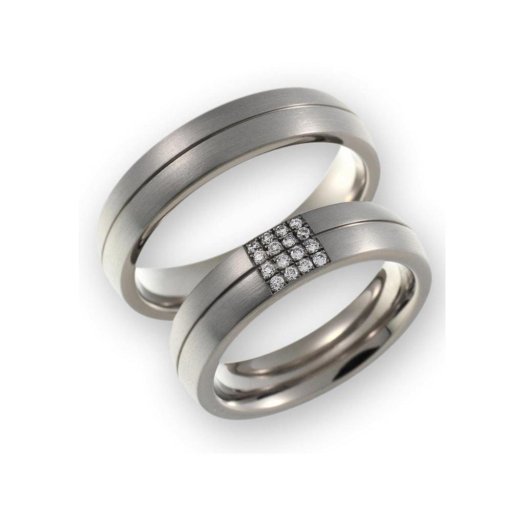 CORE by Schumann Design Trauring »20006195-DR, 20006195-HR, ST051.16«, Made in Germany - wahlweise mit oder ohne Diamanten